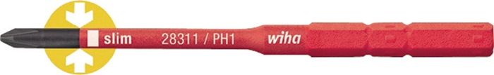 Bit SoftFinish electric slimBit VDE PH 1x75mm slimBit Wiha