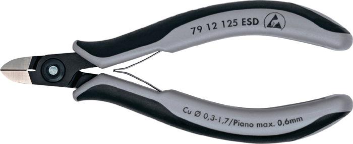 Precisie-elektronicazijsnijtng L125mm ESD rond uiterst kl. facet m.2comp hndgrn