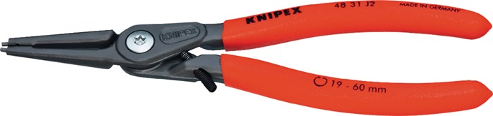 Precisie-borgringtang DIN 5256 C L.140mm voor binnenringen d.12-25mm KNIPEX