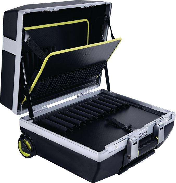 Gereedschapskoffer Premium XLT-79 trolley 35kg 79 insteek, 1 documentvak