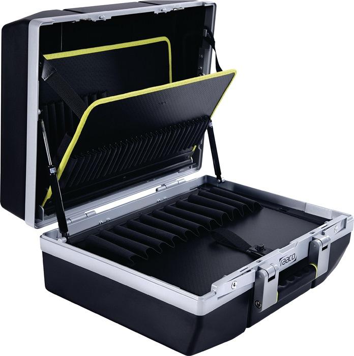 Gereedschapskoffer Basic XL-79 draagverm.25kg 79 insteekvakken 1 docum.-vak
