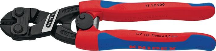 Miniboutsndr Cobolt L.200mm m.veer dr. za. d.6mm middelh. d.5,2mm m.2comp hndgrn