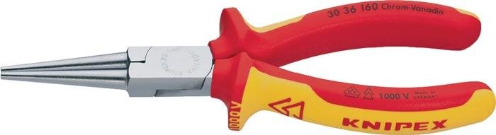Langbektang DIN/ISO5745 L.160mm VDE m.2-componenten handgrepen Knipex