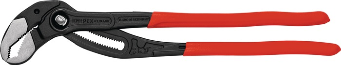 Waterpomptang Cobra DIN ISO 5743 L.400mm spanwdte 95mm m.knststfmantel gepolijst
