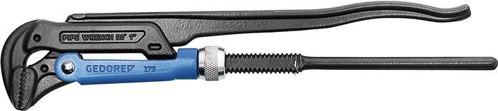Pijptang DIN5234 vorm B L.320mm 1inch blauw gemoffeld chroom-vanadium GEDORE