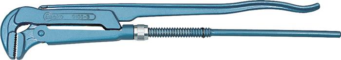 Pijptang DIN5234 L.670mm 3inch vorm A blauw gemoffeld chroom-vanadium GEDORE