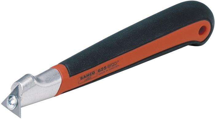 Schraper b. 25mm lem.3-hoek m.2-c. gr.i.KS holster v.art.812396/397/398