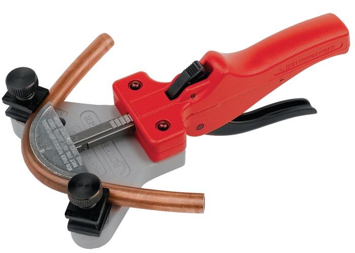Buigapparaat v.1hand gebruik 5-dlg werkber. 6-12mm Cu/alu/prec.st. in met. cass