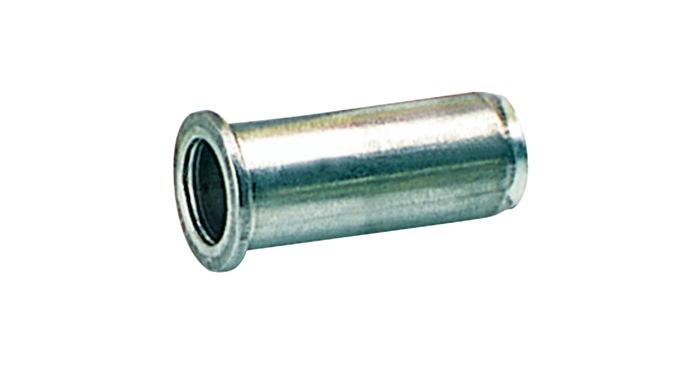 Blindklinkmoer M5 boorgat-Ï7,1 klinkbare materiaaldikte 0,5- 2,5 verpakt p.50st.