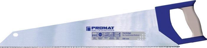 Handzaag bladl. 550mm hol geslepen 7 t./in inductief geh.m.2-comp. handgr.PROMAT