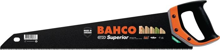 Handzaag Superior bladl. 550mm 9/10 v.spaanplaat/ku. m.2-comp.-ergo-greep BAHCO