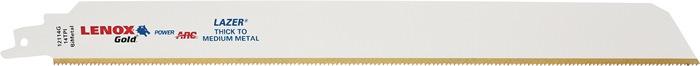 Rec.zaagbl.Gold laser l305mm tit.scha. bimet.14 t./in. v.metaal 121114G 5 st./VE