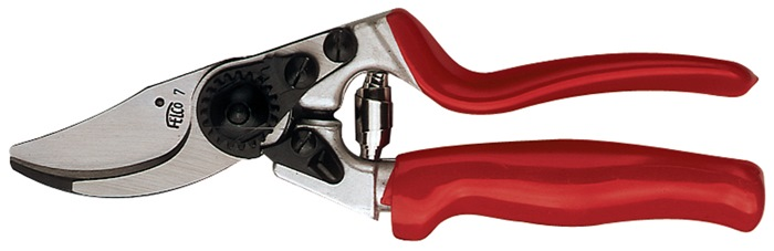 Snoeischaar 7 Totale L 210mm gewicht 290g Snijvermogen 25 mm massa 0,29 kg