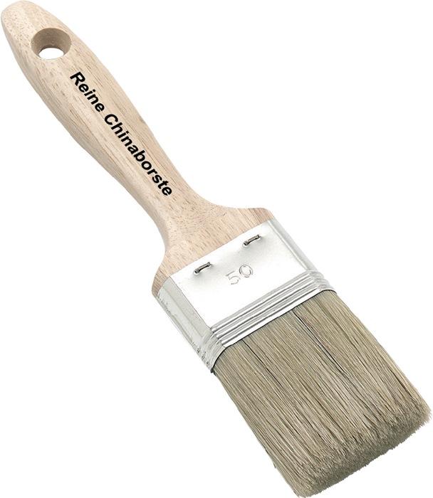 Schilders-lakkwast B.50mm borstel-l.55mm licht haar ruw houten steel NÖLLE