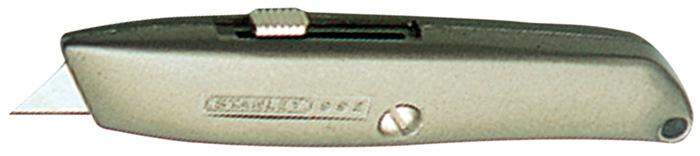 Universeel mes 99 E alu. behuizing 3 trapeziumlemmets L.155mm STANLEY