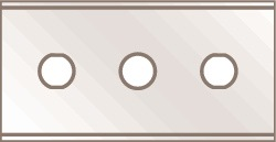 Lemmet D 0,4mm m.rechte kop v.art.nr.4000817716 v.art.nr. 4000817716 10 st/kaart