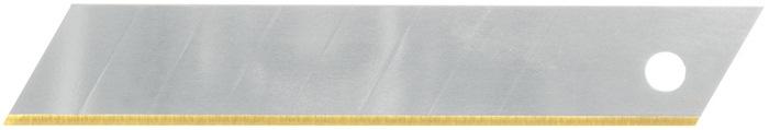 Afbreeklemmet b.18mm dikte 0,5mm titanium ijsgehard in dispenserbox PROMAT