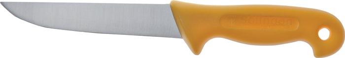 Industriemes L.240mm lemmet-L. 130mm rugdikte 2,5mm roestvrij m.knststfhandgr