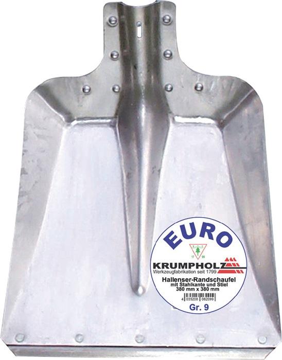 Stalschop Maat 7 met stalen kant 2mm gelegeerd aluminium aluminiumplaat