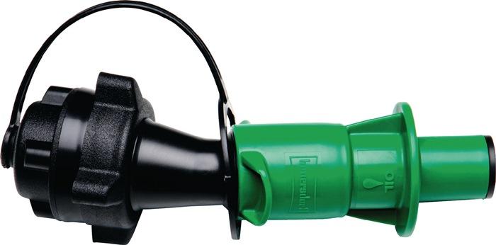 Univ. veil.vulsyst.ket.olie zwart/groen ket.olie D.opzetr. 45mm, D.vul. 21mm