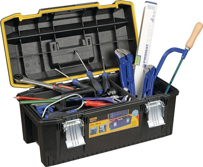 Assortiment gereedschappen 50-delig v.verwarming/sanintair in kunststof koffer