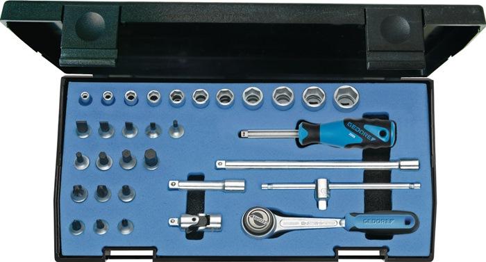 Steeksls 20IMU-3 1/4in. 32-dlg 4-14mm 6kt/sleuf/PH/PZD chr-vanad
