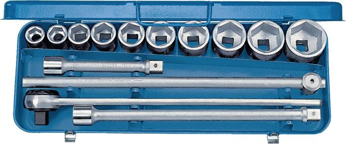 Steeksls EMU-2 DIN133 3/4in. 14-dlg 22-50mm 6kt chr-vanad