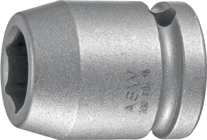 Machine-dopsleutel 720 072018 1/2in. SW 27mm zeskant l.50mm speciaal staal ASW
