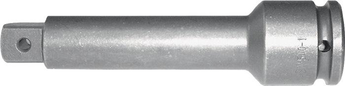 Verloopstuk DIN3121 1inch 4-kant lengte 175mm chroom speciaal staal ASW