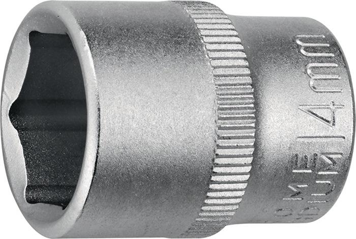 Steeksleutelbit DIN3124/ISO2725 1/4inch 6kt. SW5mm tot.L25 0mm m. profiel