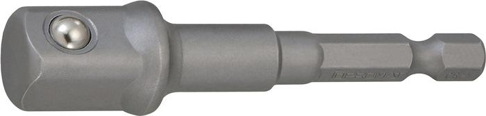 Adapter buiten-4-kant/-6-kant L.72mm v.het aandrijven van dopsleutelbits PROMAT