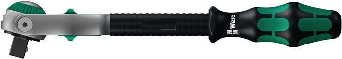 Zwenk/omschakelratel l277mm 1/2in. 4kant zwenkbaar WERA
