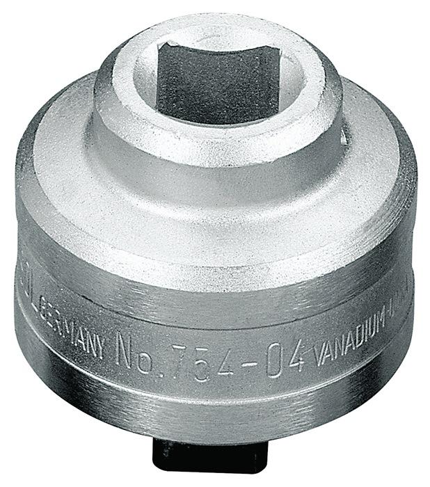 Opsteekratel 754-01 3/8inch rechtsdraaiend d. 35mm chroom-vanadiumstaal GEDORE