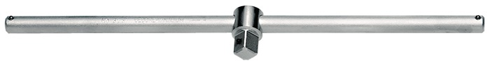 Dwarsgr. 3287 DIN3120, ISO3315 m.schuifstuk 3/4 inch L500mm Cr. V.-st. GEDORE