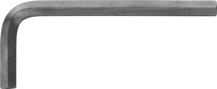 Schroefsleutels ISO2936 6kt. SW6,0mm pootl. 90,0x32,0mm Cr.-V.st. zwart m.fase