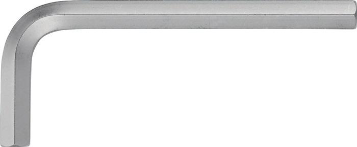 Schr.sl. ISO2936 6kt. SW3,5mm pootl. 69,5x25,5mm gehkte sl.uitein. m.afges.kt.