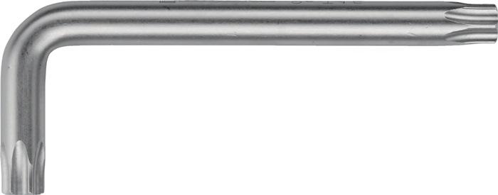 Schroefsl. TORX® TX 15 pootL54,0x18,0mm S2-st. verCr.d CV-st. opperv. staalgrijs