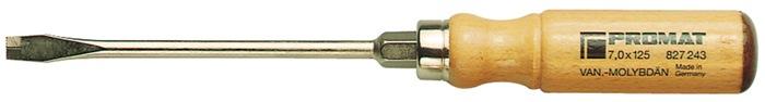 Schr.dr. P827242 slf. 5,5x100mm t.L205mm drlp. sch. 6kt. az.st. ho. gr. ler.kap