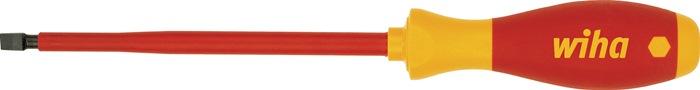 Schr.dr. IEC60900:2004 VDE slf.SW2,5x0,4x75mm t.L179mm gbrn. rnd.sch. mt.ind.