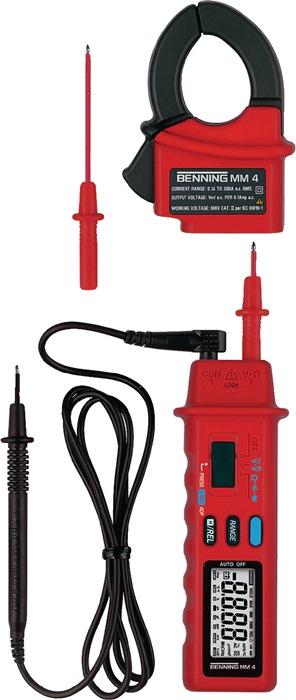 Multimeter mm 4 0,1 mV-600 V DC 1 mV-600 V ACmm 4 bat./meetl./tas