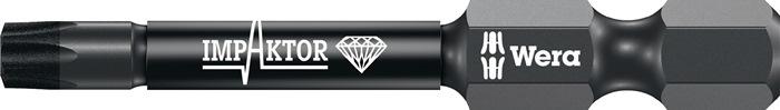 Bit 867/4 IMP DC DIN3126-D6,3 Impaktor T40 l.50mm zesk.1/4in. diamantgecoat WERA