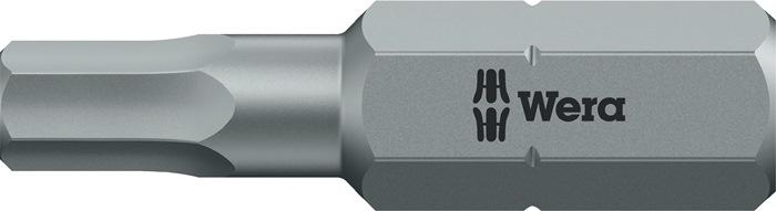 Bit840/1 Z Hex-Plus SW 2x25mm inb.2mm l.25mm 1/4in taaih.C6,3 drive HexPlus WERA