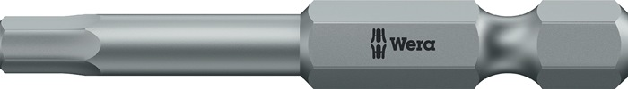 Bit 840/4 Z SW 6x89mm inbus 6mm l.89mm 1/4in. taaihard E6,3 drive HexPlus WERA