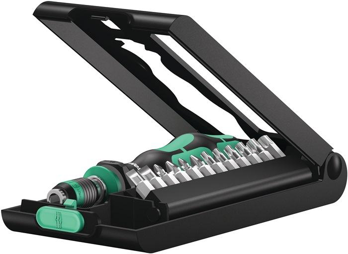 Bitass.Kraftform Compact 50 14-d.sleuf/PH/PZD/TX-Bo/houder m.bajonetschacht WERA