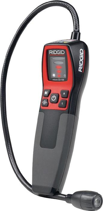 Gaslekzoeker CD-100 v.brandb. gas, 0-6400ppm alarm zicht/hoorbaar+trilling 50cm