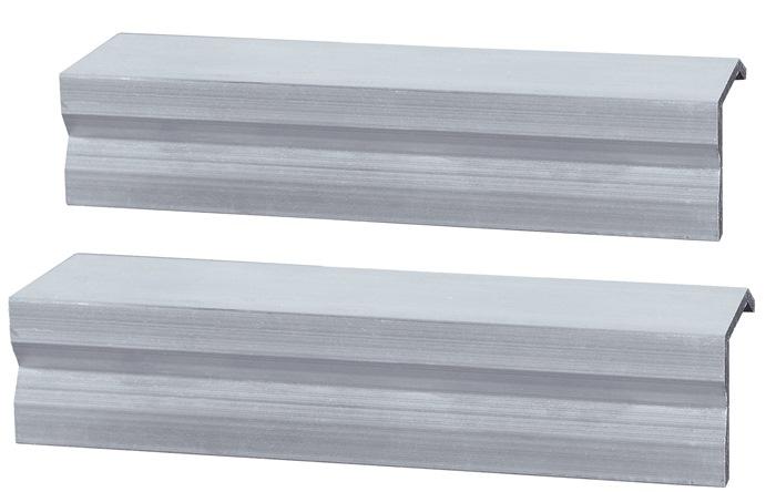 Buis- /beschermbekken maat 150mm aluminium p.paar WABECO