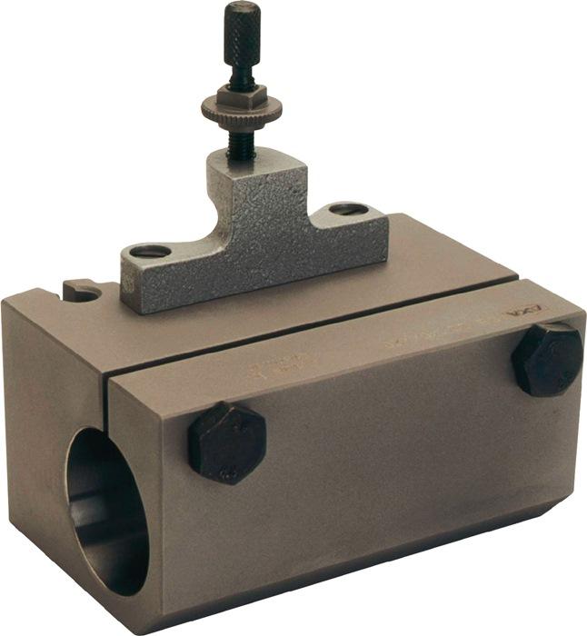 Wisselhouder v.stalen opspankop C m.cilindrische boring d.50mm PROMAT