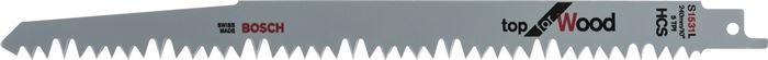 Rec.zaagbl.S 1531 ll240mm HCS tand.5mm getord.5tpi v.gr.hout/brandh.gesl.5 st/kt