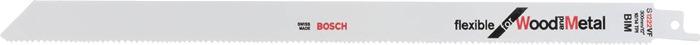 Schrobzaagblad l250mm bi tandd. 1,8mm voor vlakke snede variovertand BOSCH