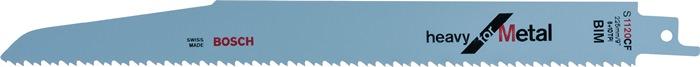 Schrobzaagblad l255mm bi tandd. 3,2mm voor platen/buizen gefreesd BOSCH
